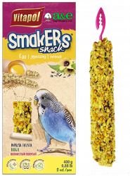 Smakers Egg Parakeet Treat Stick 2pk - A&E