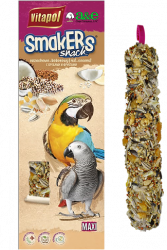 Smakers Coconut/Nut Maxi Parrot Treat Stick 2pk