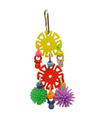 Double Trouble Small by Made in the USA Bird Toys