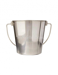 Half Pint Stainless Steel Bucket