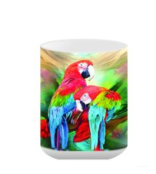 Greenwing Macaw Ceramic Mug 15 oz