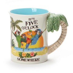 Margaritaville Sculpted Palm Mug