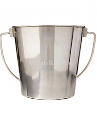 One Quart Stainless Steel Bucket