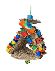 Tiki Toy Tent by What the Flock Bird  toys