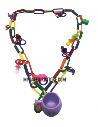 Foraging Fun Necklace by Made in the USA Toys