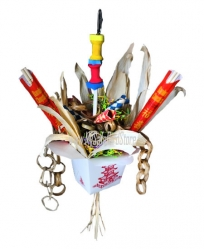 Chinese Take-Out by Made in the USA Bird Toys