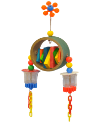 The Double Dipper by Made in the USA Bird Toys