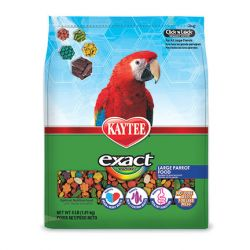 Kaytee Exact Rainbow Large Parrot 4 lb Bag