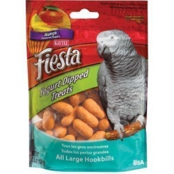 Kaytee Yogurt Dipped Mango Treats Parrots 3.5 oz