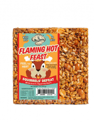 Mr. Bird Flaming Hot Feast Cake Small