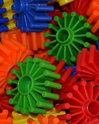 Plastic Gear for Toy Making 3 Pack