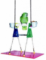 Polly's Pet Products Suspended Stand Large