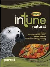 Higgins In Tune Natural Parrot Pellets 18 lb Bag