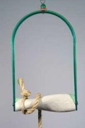 Polly's Twist N Arch Swing Small